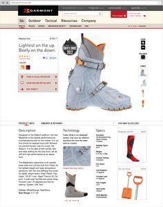 Garmont   Website design by Studiofluid — Animated GIF