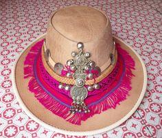 Cuero sombrero de Ibiza