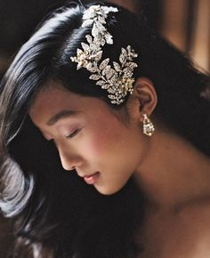 Enchanted Atelier by Liv Hart Fall/Winter 2015 Bridal Accessories Are Vintage and Romantic | https://www.theknot.com/content/enchanted-atelier-liv-hart-fall-winter-2015-bridal-accessories