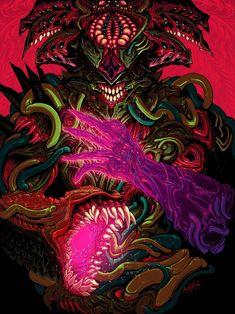 Solar God, an art print by Brock Hofer Hyper Beast Wallpaper, Trippy Wallpaper, Wallpaper Space, Final Fantasy Artwork, Dark Fantasy Art, Dark Art, Supreme Iphone Wallpaper, Demon Art, Dungeons And Dragons Homebrew