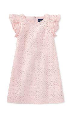 blush eyelet dress for toddlers  affiliate  toddler Outfits För Små Barn f3d28a015463c