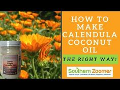 In this Video I'm going to share with you How To Make Calendula Coconut Oil.Coconut oil has thousands of uses. Calendula flowers have amazing skin care properties.