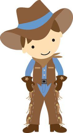 Cowboy e Cowgirl - cowboydarkhair.png - Minus
