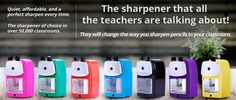 Get your favorite new pencil sharpener HERE!!