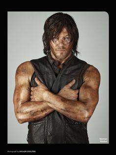 Norman Reedus - ''Daryl'' - EW