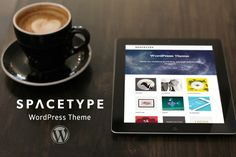 Check out Spacetype – WordPress Theme by The Seniores Themes on Creative Market