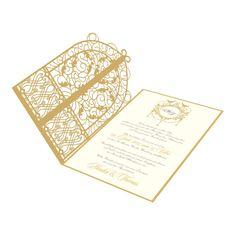 Zierliche Hochzeitskarte Nr. 34