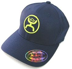 "Navy Cody Ohl HOOey cap! Features HOOey in lime green raised embroidery surrounded by the Cody Ohl ""O"" on front of cap. This FLEXFIT cap is available now at: http://www.bunkhousewestern.com/Navy_Cody_Ohl_Signature_Hooey_Flex_Fit_Cap_p/6818.htm"