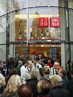 Mode aus Japan Uniqlo eröffnet ersten Shop in Deutschland
