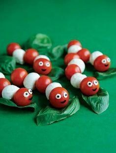Little caterpillars