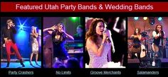 Hire Utah's best live bands for corporate events, weddings, or parties. We offer the most incredible Utah wedding music bands, cover bands, and Top 40 bands. Wedding Music, Wedding Bands, Music Bands, Best Part Of Me, Utah, Live, Concert, Party, Concerts