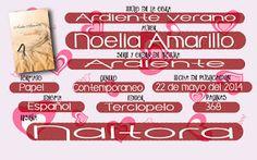 Locas del romance: ARDIENTE VERANO (ARDIENTE #1 NOELIA AMARILLO)