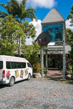 Entrance to Daintree Zoo
