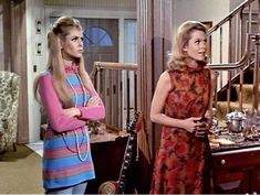 Double trouble 💋💕✌🏻 Fashion Tv, Fashion Models, Bewitched Tv Show, Bewitched Elizabeth Montgomery, Erin Murphy, Girl Actors, The White Princess, Popular Shows, Vintage Hollywood