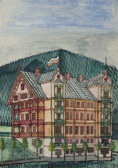 Nikifor Krynicki - Dom w Krynicy