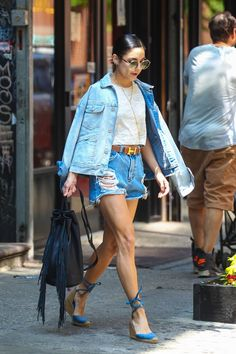 Vanessa Hudgens – Leaving Her Apartment in NYC, May 2015