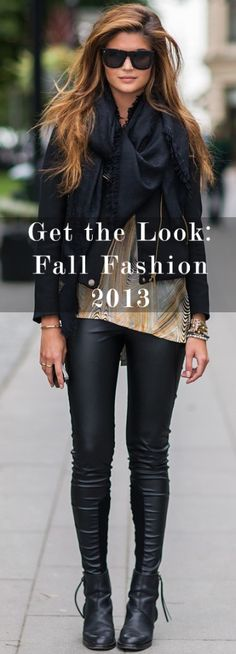 Get the Look: Fall Fashion 2013 |