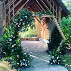 Rent our hexagonal arch for your intimate ceremony today!