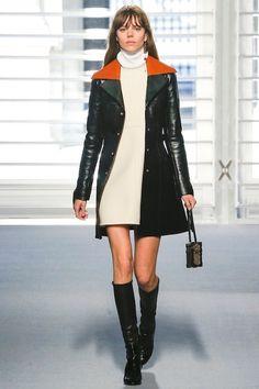 A-lijn jas over A-lijn jurk LVHW201415