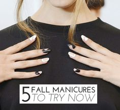 5 Fall Manicures To Try Now via @glitterguide