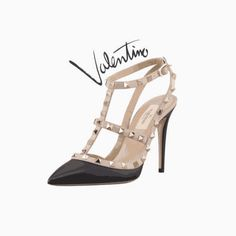 fashion wall art, fashion illustration, fashion print, fashion poster, Valentino, Valentino shoes, instant download, printable art