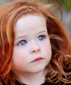 This is a provisional pinning.  I would NEVER exploit a child's beauty, but how can you not be taken by this face?  This face, that when she grows into those eyes and that hair, will literally SLAY men with but a single glance!  What a beautiful little girl.