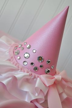 Princess Birthday Party Hat would be a cute idea for a witch halloween costume too! @shelby c Dixon I think Miss. Bailey would love this