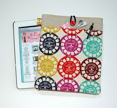 VIEWFINDER (Multicolor) - iPad 1 or 2 / NEW iPad / Tablet PC Padded Sleeve Case Cover