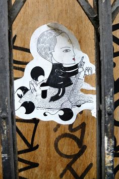 Paris 11 - rue amelot - street art - Fred le chevalier