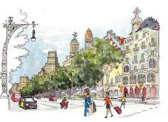 Casa Batlló por Joaquin Gonzalez Dorao en Diarios de viaje - Barcelona
