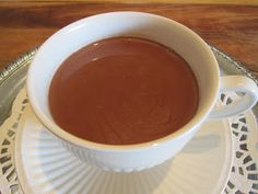 """Vianne's Spiced Hot Chocolate from the fabulous book and movie """"Chocolat""""! From Joanne Harris, the Author!"""