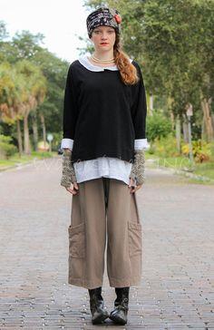 PACIFICOTTON Bryn Walker Pacific Cotton Casbah Pant Pocket s M L XL 2015 Fall   eBay