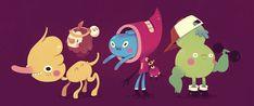 little dudes pt.2 by Bisparulz