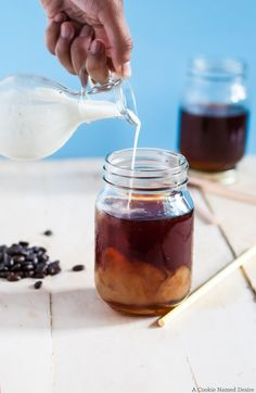 Make cold brew coffee at home with this simple recipe. No need to go out and spend $4 on coffee!