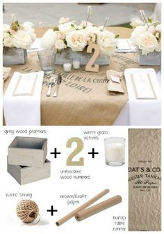 5 Rustic Tablescapes Decoration Tablewedding Table Decorationswedding