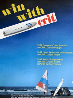 CRIT D2 sailboard 1981