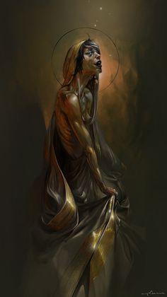 zombie saint by apterus on DeviantArt