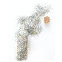 German Glass Glitter - Mercury