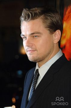 """LEONARDO DiCAPRIO at the Los Angeles premiere of his new movie """"Blood Diamond"""" at Grauman's Chinese Theatre, Hollywood. December 6, 2006 Los Angeles, CA Picture: Paul Smith / Featureflash"""