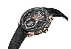 Twenty-8-Eight Tourbillon, manually wound movement, rose gold and titanium with black PVD - T8.TH.010