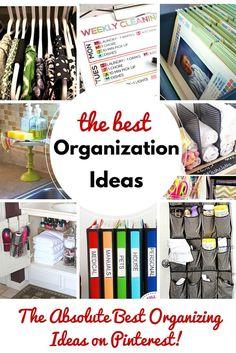 The+Best+Organization+Ideas+on+Pinterest+via+@jfishkind