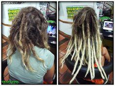 Dreads na cabeleira inteira de Vivi do Rio de Janeiro - RJ