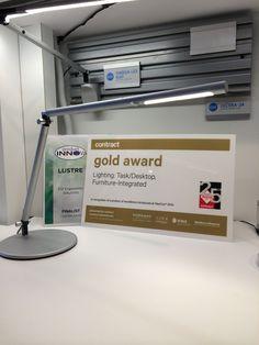 esi ergonomic solutions wins best of NeoCon award for Lustre lightning