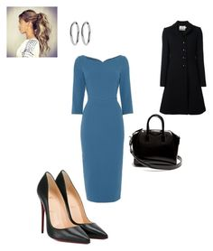 """Work"" by cgraham1 on Polyvore featuring Christian Louboutin, Goat and Givenchy"