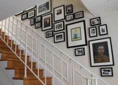 Boston Mamas: Easy Staircase Gallery Walls www.bostonmamas.com-350×235-More sizes Visit page  View original image  Search by image  Try these too: Images may be subject to copyright.  Thrifty Decor Chick: The staircase is done! ( thriftydecorchick.blogspot.com-400×533-More sizes Visit page  View original image  Search by image  Try these too: Images may be subject to copyright.