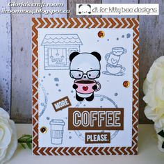 Gloria's craft room: more coffee please