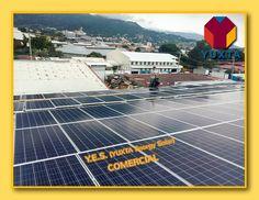 """¡Otra instalación fotovoltaica YES (YUXTA Energy Solar) Comercial; soluciones para el gasto energético industrial, comercial y residencial. """"Con el Ahorro y Eficiencia Energética, hay menos presión sobre nuestros recursos naturales."""" #yuxtaenergy #energíasolar"""