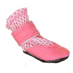 Soft sole Mini Meshies by Barko Booties fit even the smallest breed dogs and are ideal for summer or to wear indoors.  Also great to protect paws after surgery or to prevent paw licking.