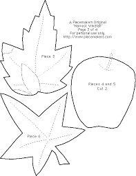 Resultado de imagen de leaf applique pattern