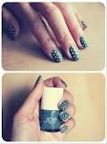 nails in grey and yellow - Buscar con Google